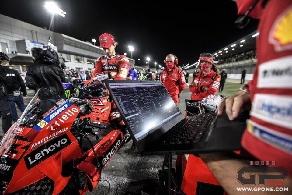 MotoGP: Lo strano caso Ducati: nella gara in Qatar persi fino a 14 Km/h