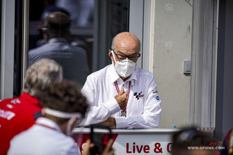 """MotoGP: Ezpeleta: """"Per me è come se Valentino Rossi si fosse rotto una clavicola"""""""
