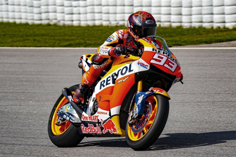 "MotoGP: Puig: ""Marquez was fast on the RC213V-S, the doctors stopped him"""