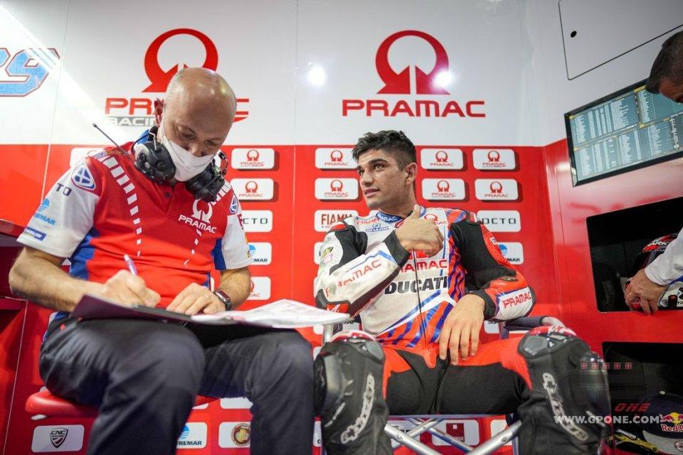 """MotoGP: Martin: """"Ho detto a Dall'Igna che la Ducati è facile, ha riso"""""""
