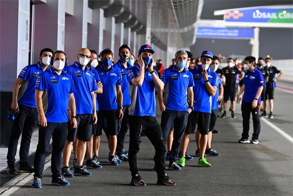 """MotoGP: Mir: """"I haven't had the vaccine yet, before I will talk to the doctors"""""""