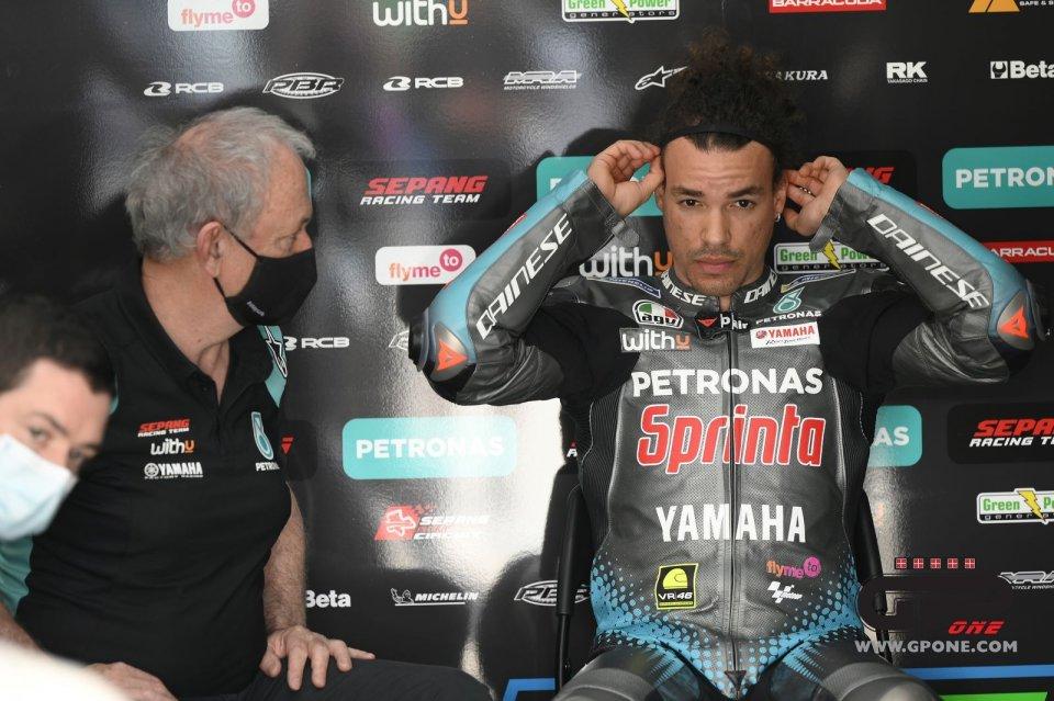 "MotoGP: Morbidelli: ""I won't try the new Yamaha frame this season."""