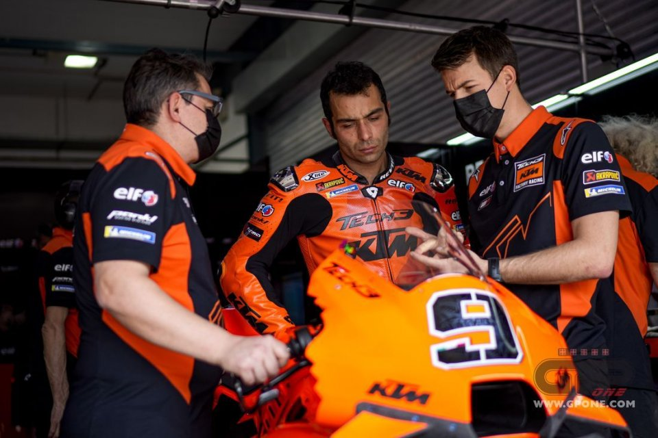 """MotoGP: Petrucci: """"Pedrosa and I have the same ideas about the KTM"""""""