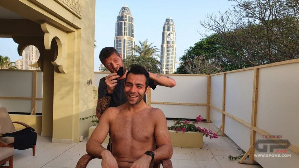 MotoGP: In Qatar Danilo Petrucci dà un taglio... ai suoi capelli