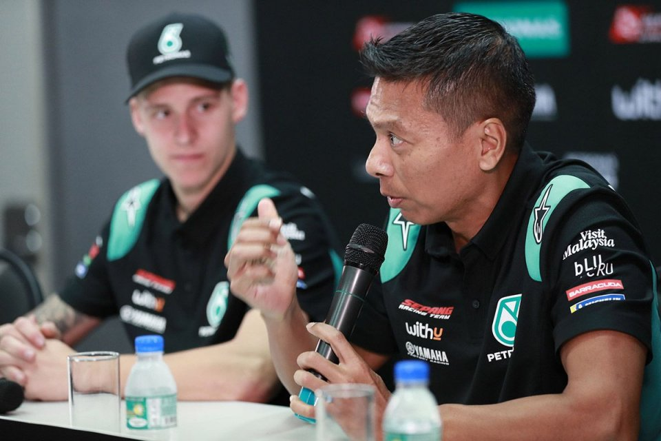 """MotoGP: Razali: """"Rossi darà stabilità a Petronas, Morbidelli è un artista"""""""