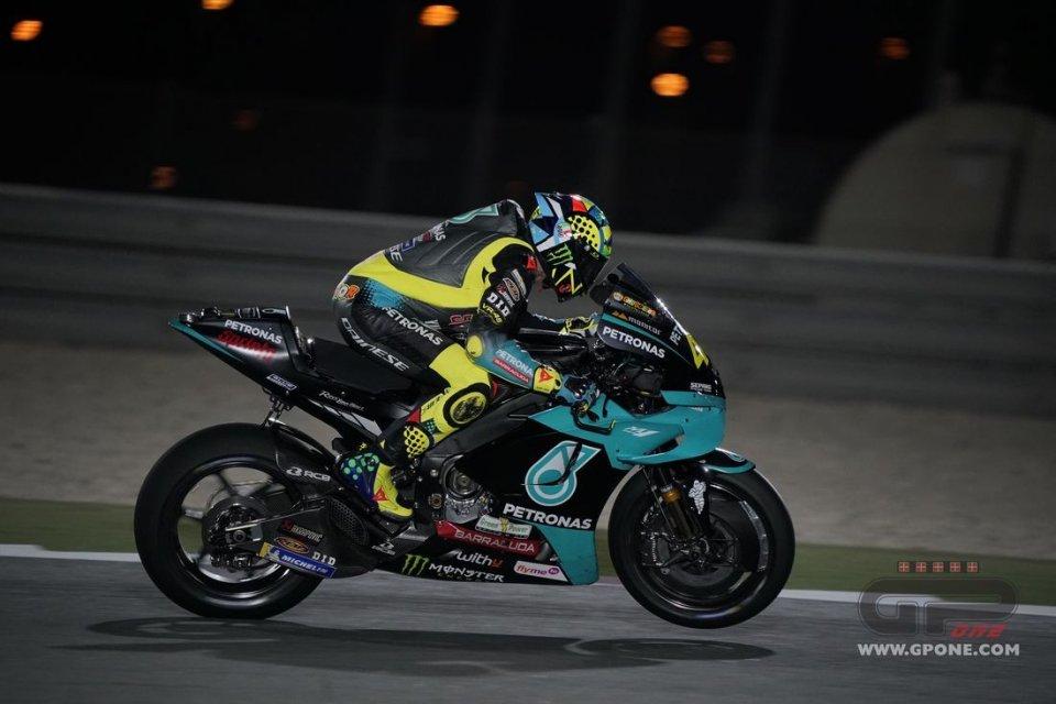 """MotoGP: Rossi: """"Mai stato così veloce in Qatar, significa che ci sono ancora"""""""