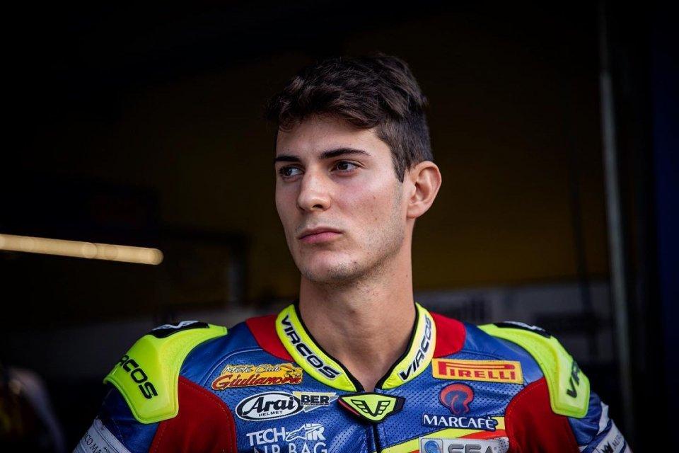 SBK: Matteo Ciprietti riparte dal National Trophy con il Team ZPM Racing