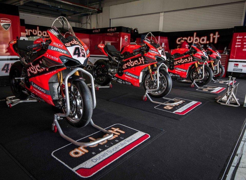 SBK: Misano è Rossa: Redding e Ducati sfidano Rea a distanza