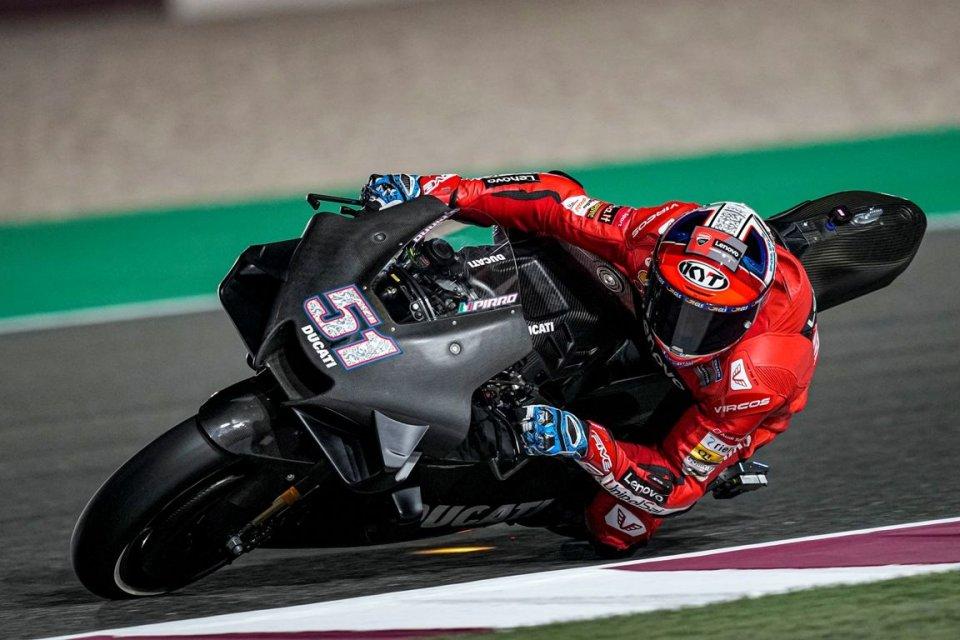 SBK: Michele Pirro: collaudatore Ducati volante tra Losail e Misano