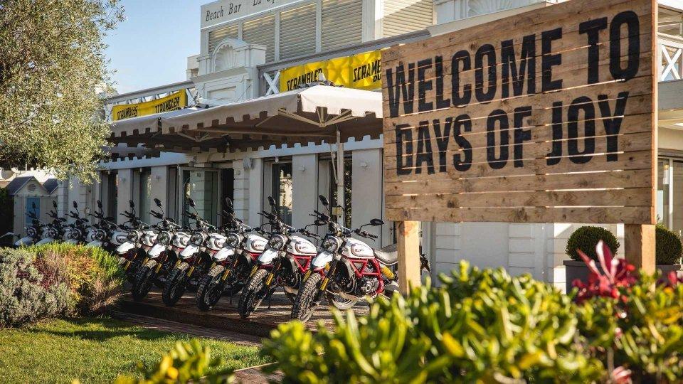 Moto - News: Ducati Days of Joy Scrambler 2021: aperte le iscrizioni