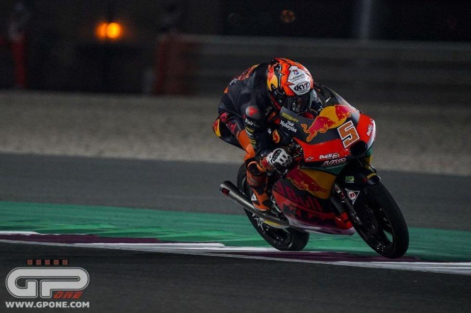 Moto3: Jaume Masiá in pole con la KTM, 2° García ma dalla pit-lane
