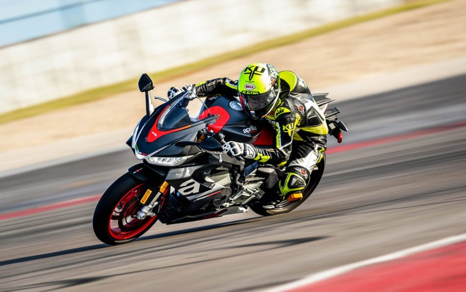 MotoAmerica: Aprilia to conquer America: the RS 660 will race in the Twins Cup