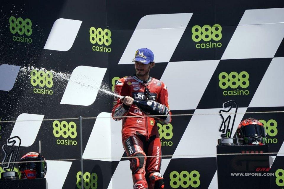 """MotoGP: Bagnaia: """"Quella bandiera gialla mi ha tolto la possibilità di vincere"""""""