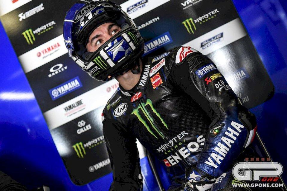 """MotoGP: Vinales: """"La vittoria di Quartararo? Non guardo dall'altra parte del box"""""""
