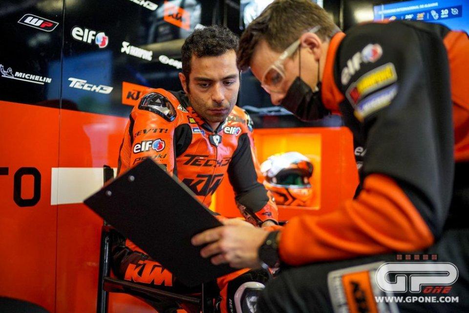 """MotoGP: Petrucci: """"Sono veloce con gomme usate, ma non con le nuove: è un problema"""""""