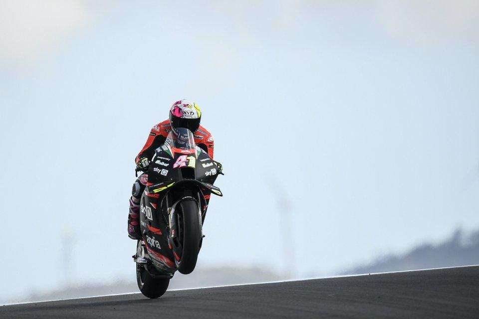 """MotoGP: Aleix Espargaro: """"Scegliere la dura per il time attack è stato un errore"""""""