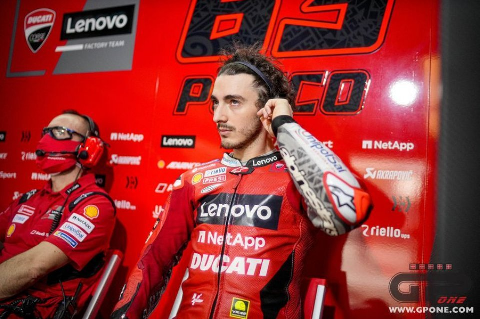 """MotoGP: Bagnaia: """"Martin bravissimo ma non è pronto per vincere un Gran Premio"""""""