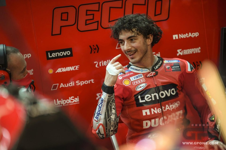 """MotoGP: Bagnaia: """"Everything came good for me and when it goes like this it's magnificent"""""""