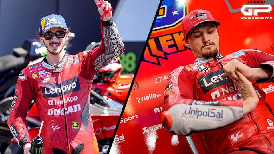MotoGP: Bagnaia Vs Miller: un tre a zero pesantissimo in Ducati