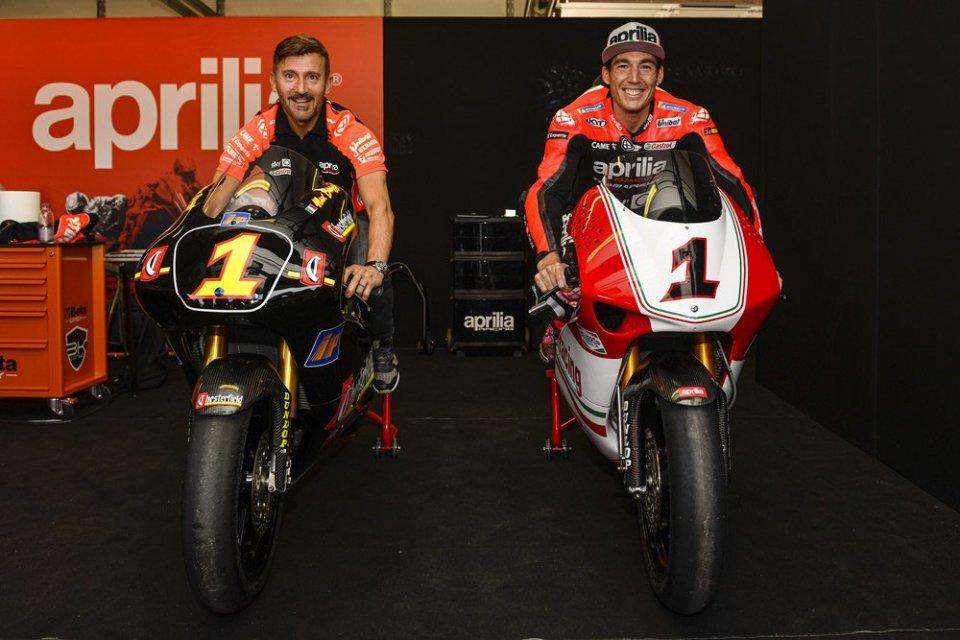 "MotoGP: Espargarò: ""The RSV 250 is crazy, three times stiffer than a MotoGP"""
