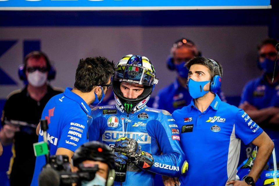 MotoGP: Il capotecnico di Joan Mir positivo al COVID, al suo posto O'Kane