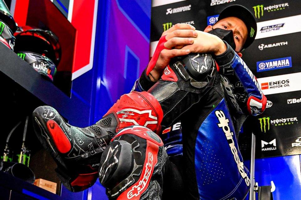 """MotoGP: Quartararo: """"Non ho le sensazioni della Yamaha 2019, ma sono competitivo"""""""