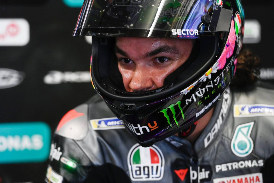 MotoGP: Morbidelli unhappy with situation, but sure VR46 will take care of his future
