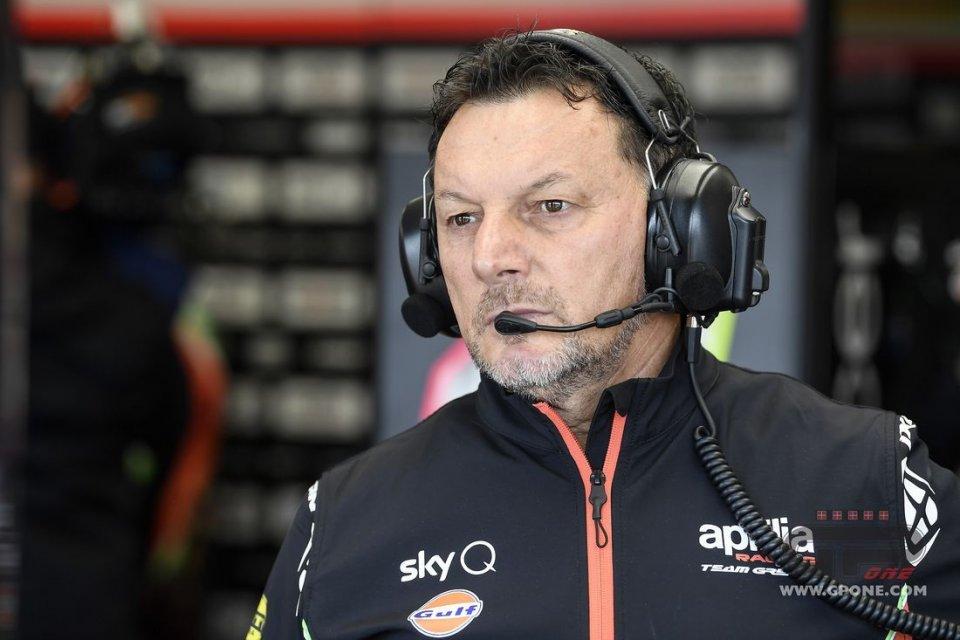 """MotoGP: Gresini: """"Savadori l'opzione migliore per Aprilia nei test di Sepang"""""""