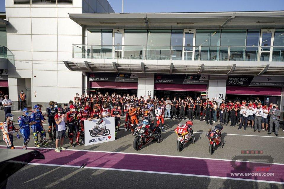 MotoGP: MotoGP e Formula 1 si uniscono per ricordare Fausto Gresini