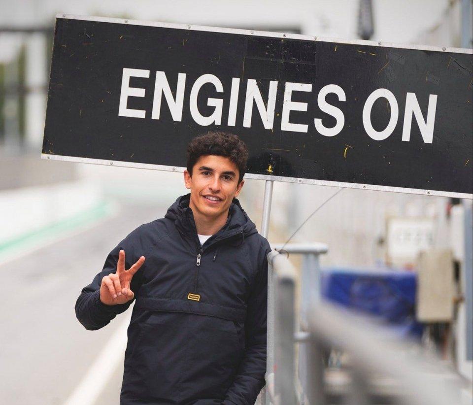 MotoGP: Marc Marquez – Honda: motori finalmente accesi a Portimao!