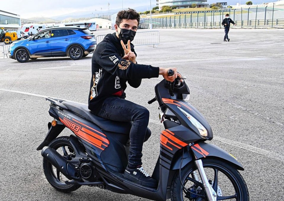 """MotoGP: Marquez: """"I've learned my lesson, there are a lot of GPs, but we only have one body"""""""