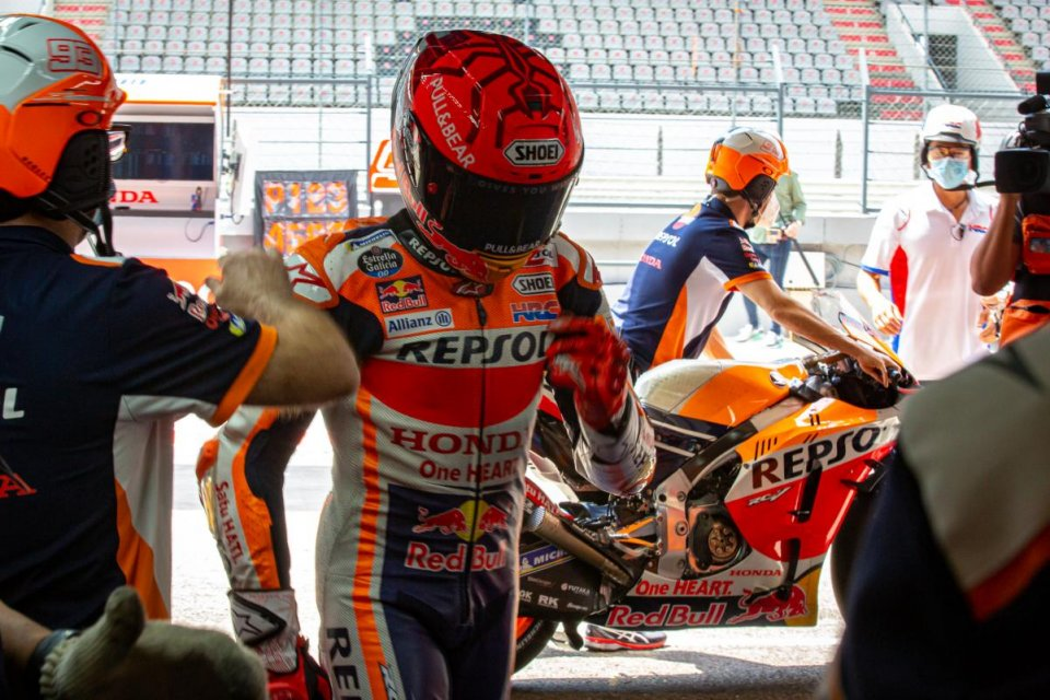"MotoGP: Marquez: ""The hardest thing was the first laps, when I had to accept being overtaken"""