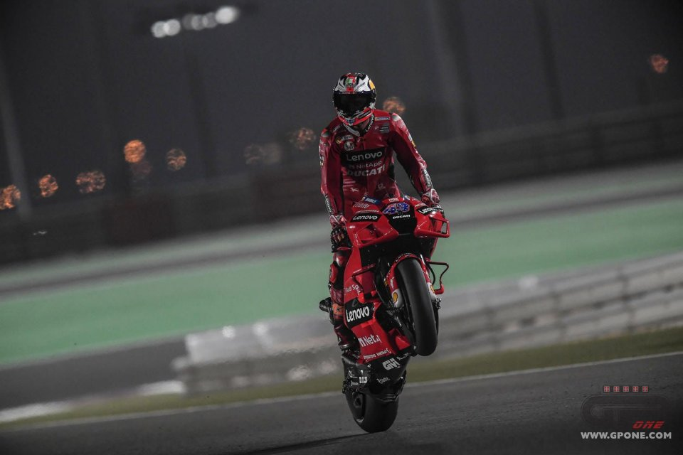 MotoGP: Ducati fa tripletta in FP2 a Losail: Miller 1° su Bagnaia e Zarco. Rossi in Q1