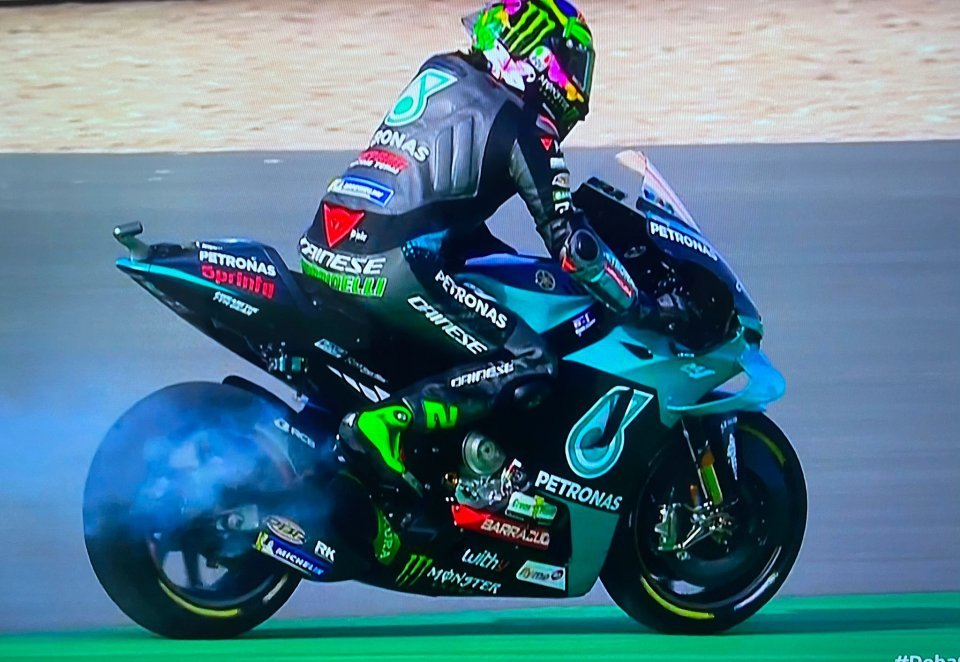 MotoGP: Where there is smoke there is fire: still problems for Morbidelli's Yamaha