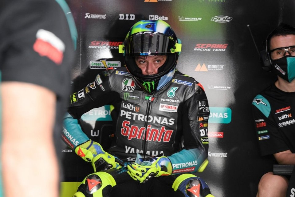 """MotoGP: Rossi: """"I already have so many problems without having to think about Morbidelli"""""""