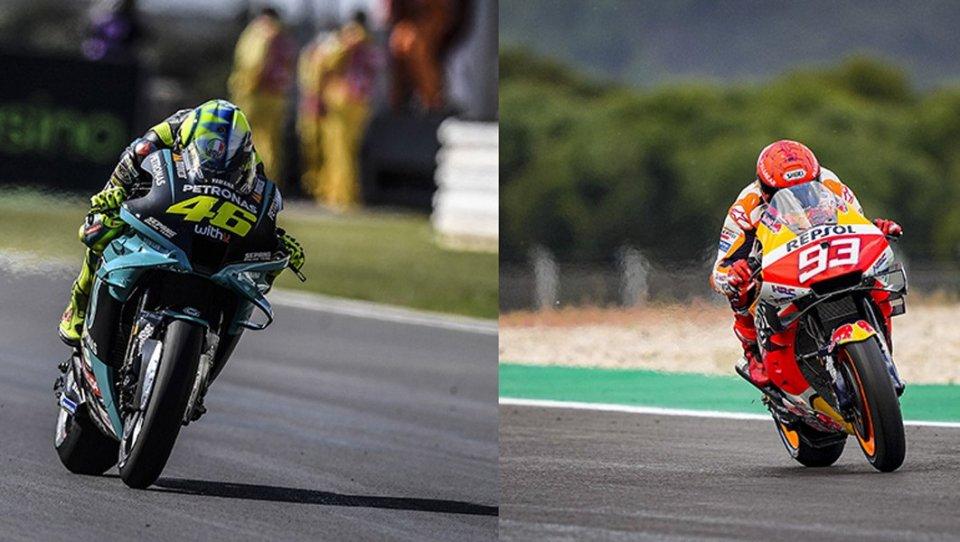 """MotoGP: Jerez: Valentino Rossi e Marc Marquez, ritorno sul """"luogo del delitto"""""""