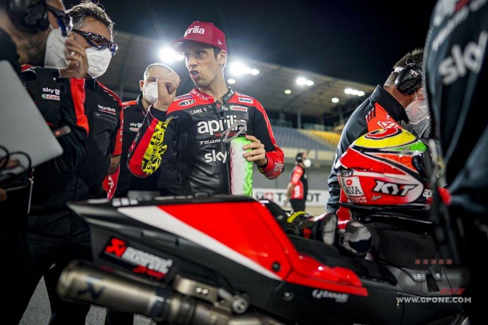 """MotoGP: Savadori: """"Dovizioso? Il test con Aprilia positivo per lui e per noi"""""""