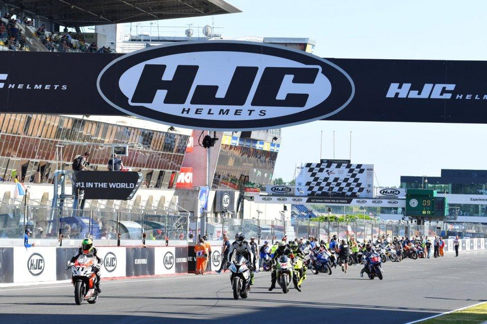 News: Annullata la 1a tappa dell'European Bridgestone Iron Cup a Le Mans