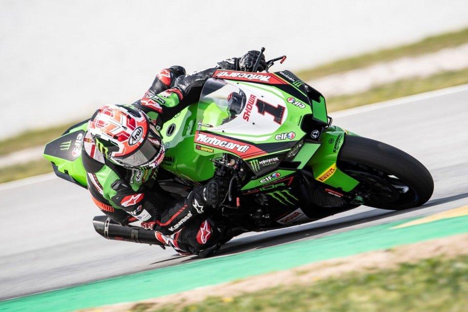 """SBK: Ad Aragon vince la pioggia, ma Rea avverte: """"Ho chiaro il potenziale della Kawasaki"""""""