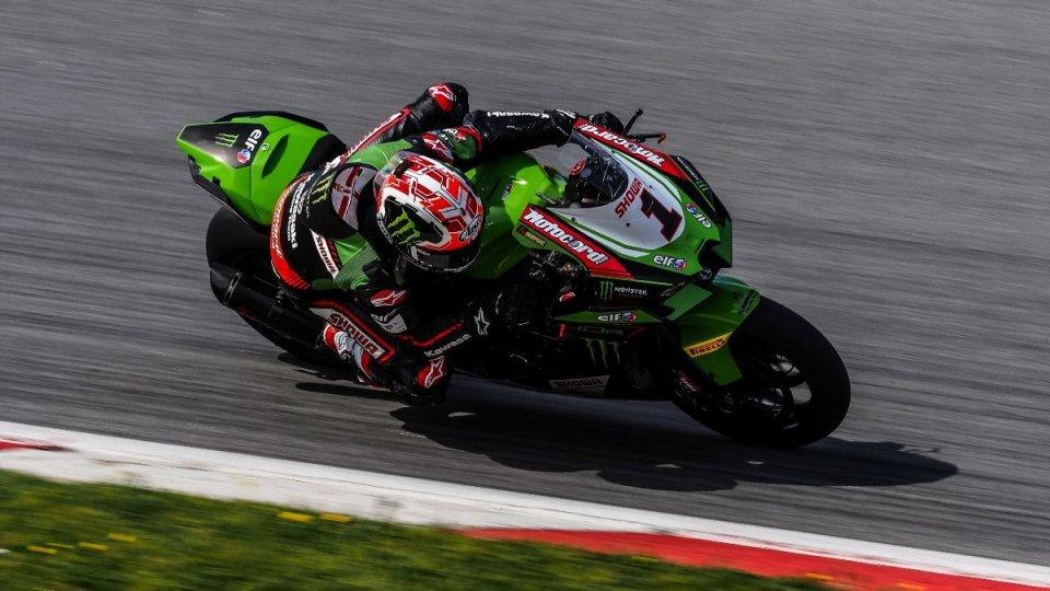 SBK: Rea e la Kawasaki non fanno sconti a Barcellona, 2° Redding, 3° Gerloff