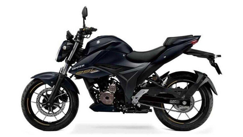 : Suzuki Gixxer 250 2021, in Giappone arriva con nuovi colori