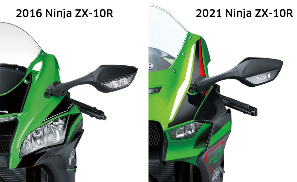 """Moto - News: Kawasaki ZX-10R, Aprilia RSV4, Yamaha MT: quando lo """"sguardo"""" fa discutere"""