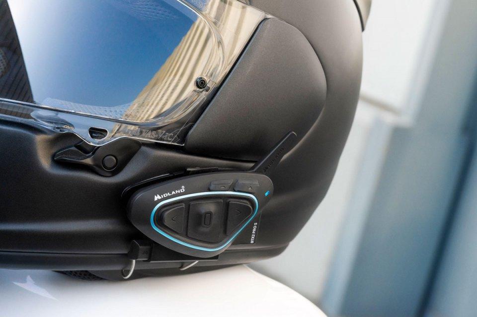 Moto - News: Midland BTX2 PRO S LR: l'interfono tech a lungo raggio