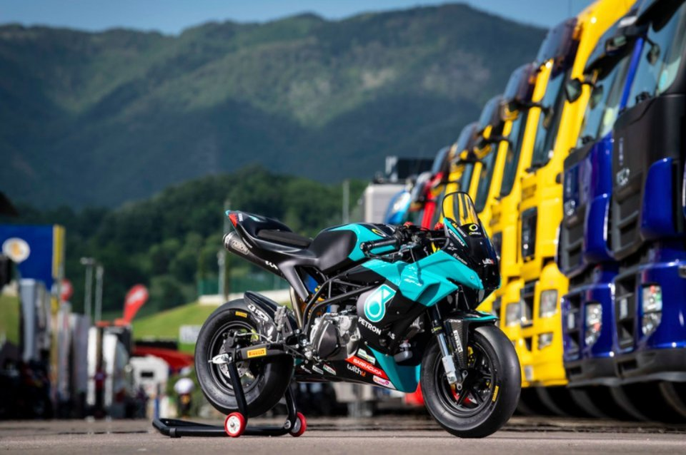 Moto - News: Petronas launches the MiniGP replica Valentino Rossi and Franco Morbidelli