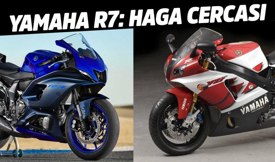 Moto - News: Nuova Yamaha R7, nessuna lesa maestà: sarà il trampolino per i nuovi Haga