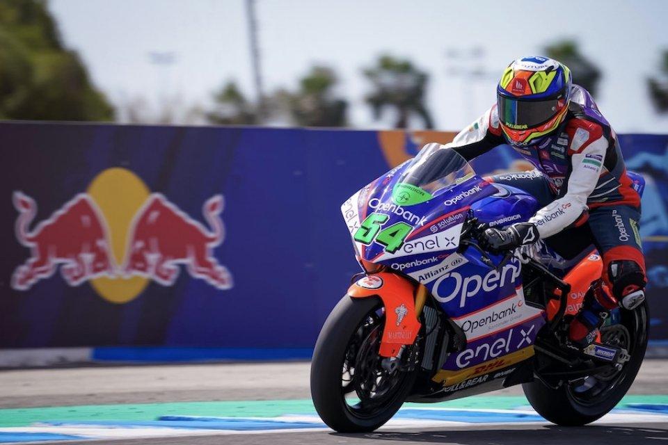 MotoE: Jerez: A Granado la prima pole della stagione. Ultimo Matteo Ferrari