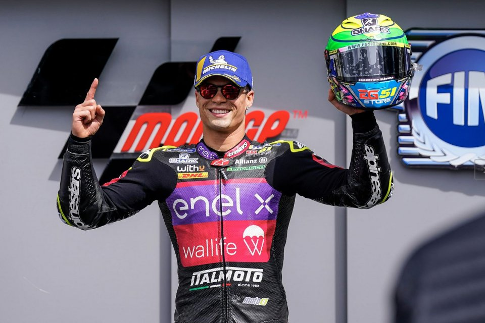 MotoE: Granado vince e convince a Le Mans nel GP di Francia 'elettrico'