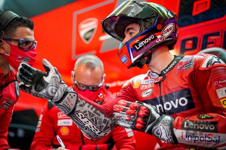 """MotoGP: Bagnaia: """"La strategia per la gara? Cercare di rallentare le Yamaha"""""""