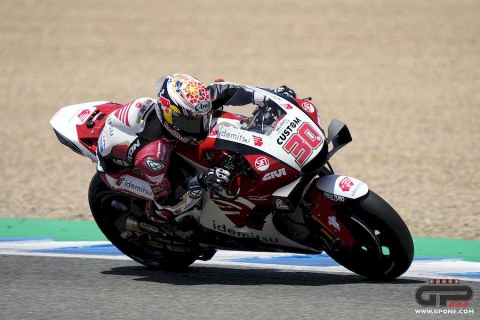 MotoGP: Jerez FP3 - Honda a due facce: 1° Nakagami, a terra Marquez