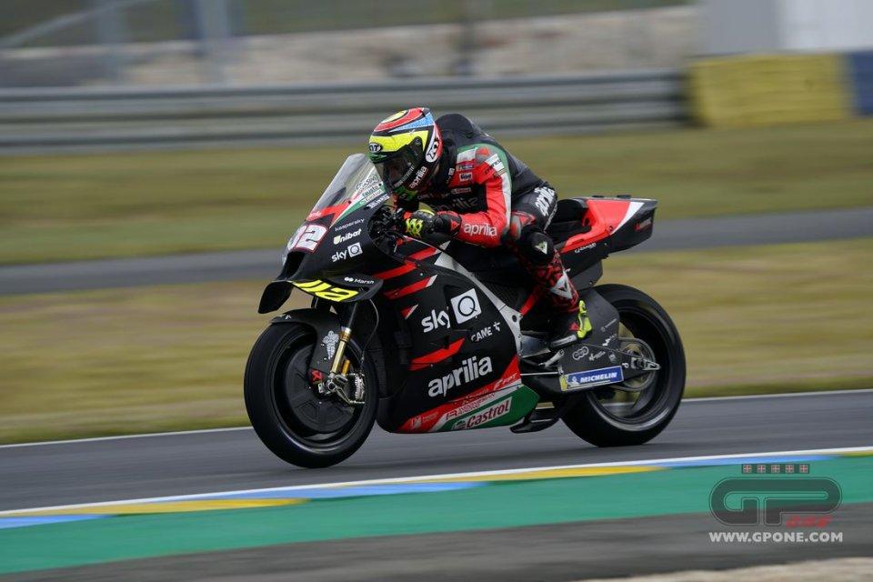 """MotoGP: Savadori: """"Vado forte perché sul bagnato la MotoGP assomiglia alla SBK"""""""